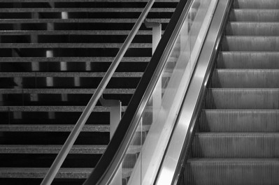 Stairs, Gare St. Lazare, Paris
