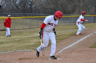 Milton Var Baseball Vs Edgerton
