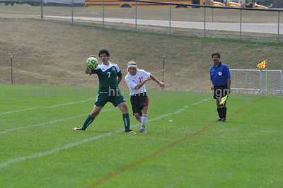 Milton Boys Soccer vs Waterford