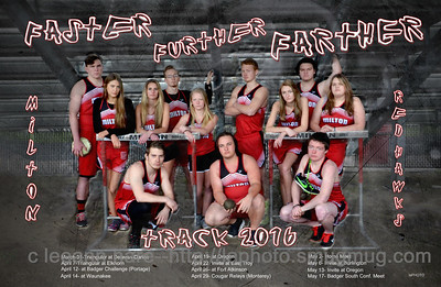Track Poster and Seniors