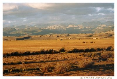 Southwestern Wyoming along I-80.