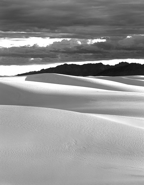 Gypsum dunes. White Sands National Monument, New Mexico