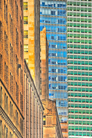 Architectural color play