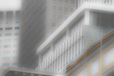 Architecture study, City center. San Francisco, California