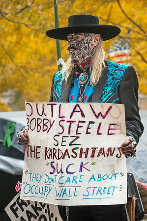 Protester, Occupy Wall Street