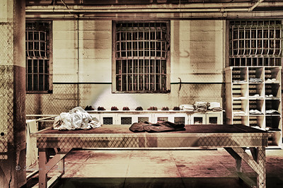 Laundry room, Alcatraz. San Francisco, California