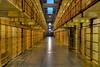 Cell block, Alcatraz. San Francisco, California