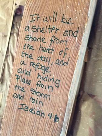 2016 New Loft Scripture writing