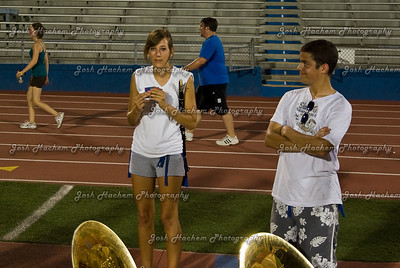 August 22, 2008  The first rehearsal of the semester 040