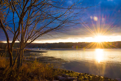 Cold Spring Harbor Sunset