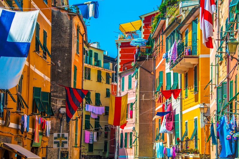 Flag Day in Vernazza