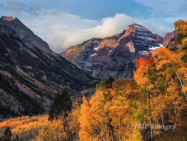 Fall at the Maroon Bells
