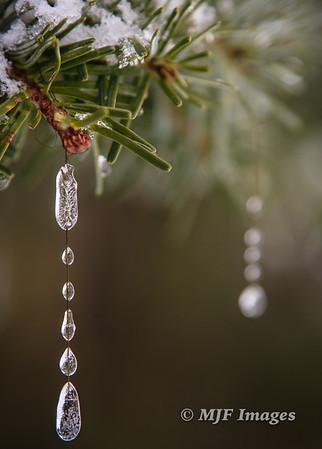 Ice Drop Ornaments