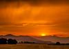 Montana Ranch Sunset