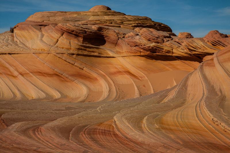 Wavey rock