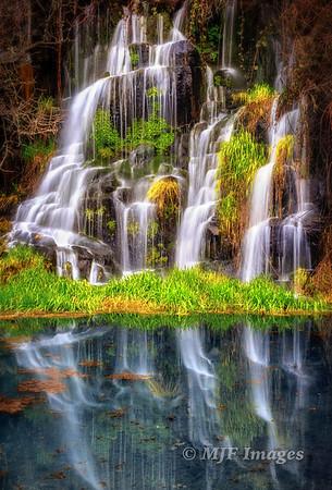 Spring-fed Falls