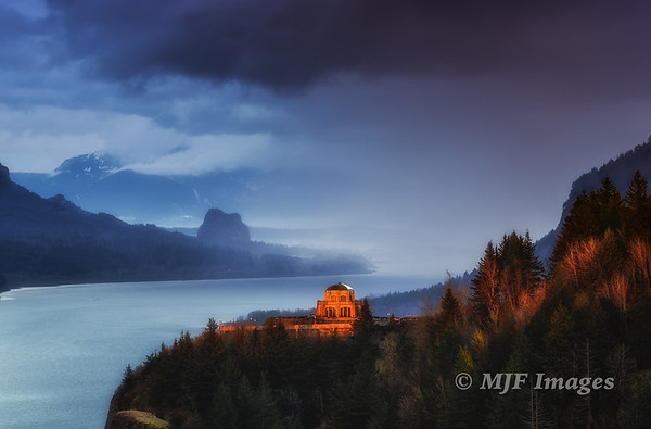 Last LIght at Crown Point