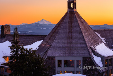 Winter's Eve at Timberline Lodge