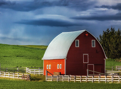 Palouse Barn I