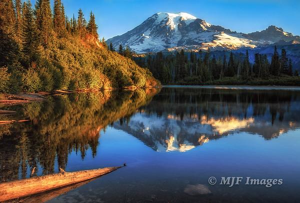 Rainier and Bench Lake