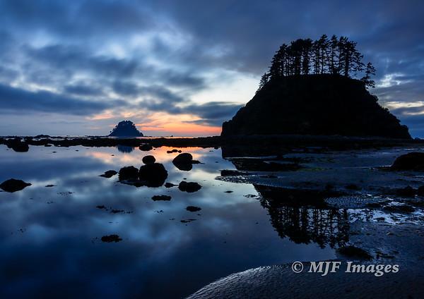 Cape Alava in Twilight