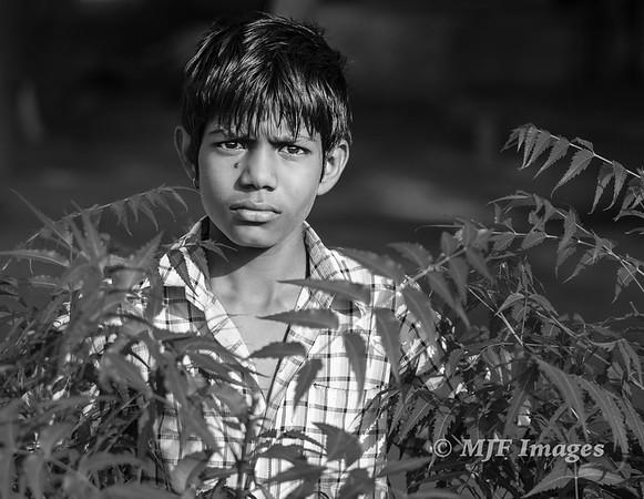 Serious Indian Boy