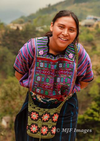 Smiling Mayan Woman