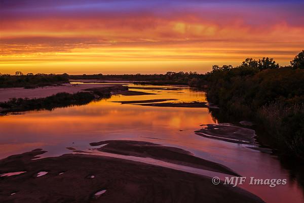 Cimarron Sunset I