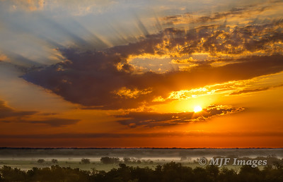 Western Prairie Sunrise