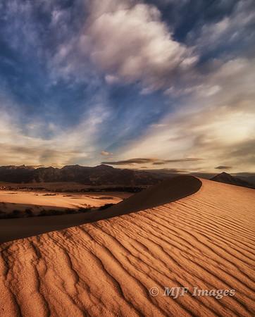 Golden Barchan Dune II