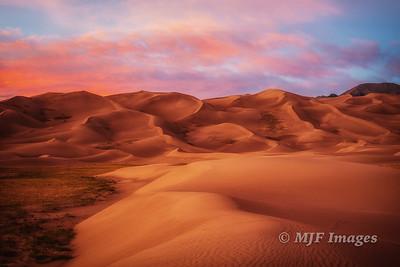 Soft Desert Evening