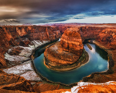Horseshoe Bend Dusted