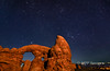 Turret Arch at Night