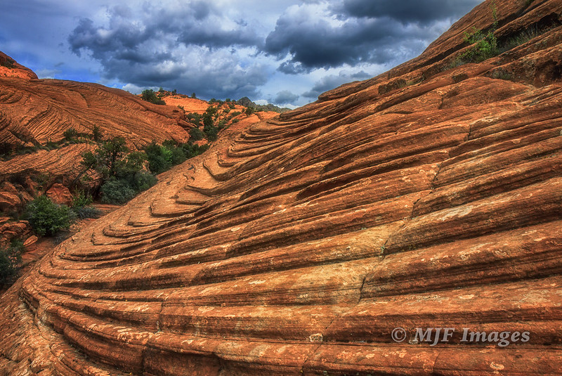 Layers in Sandstone
