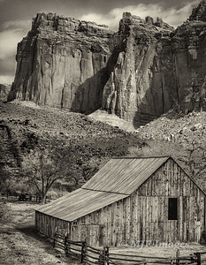 Barn at Capitol Reef