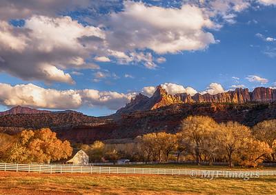 Utah Ranch in Fall