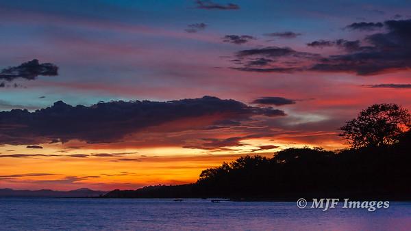 Omotepe Sunset