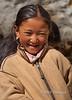 Smiling Sherpa Girl