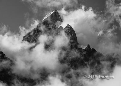 Cloud-Shrouded Peak