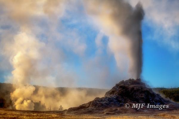 White Dome Eruption