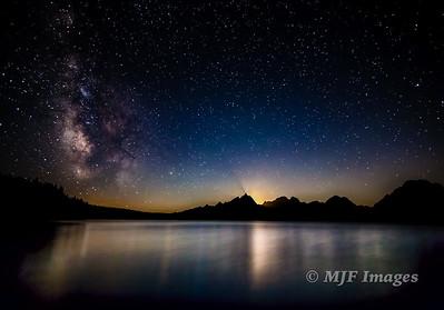 Jackson Lake Starscape