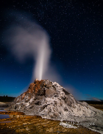 Erupting into the Night