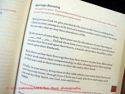 prayer for blessing of a marriage