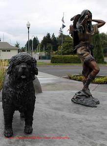 Sacagawea and Seaman