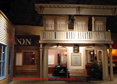 Columbia Gorge Discovery Center, The Dalles, OR model of Umatilla House, the best hotel in the Dalles in late 1800's.