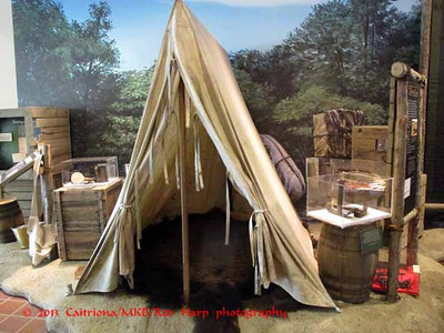 Columbia Gorge Discovery Center, The Dalles, OR Lewis and Clark camp