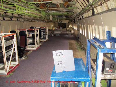 testing area of 747