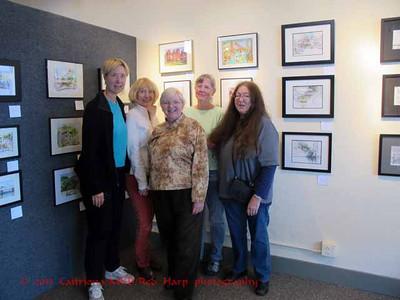 The last ones standing:  Teresa Lawton, Lynn Davis-Smith, Kate Buike, Michelle Abbott and Beth Betker