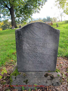 A.Y. Burhart; born 1848, died 1919