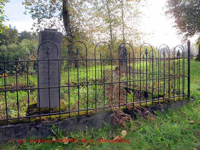 The fenced plot of the Monster family